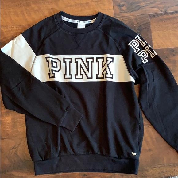 PINK Victoria's Secret Colorblock Sweatshirt